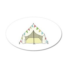GLAMPING TENT Wall Decal