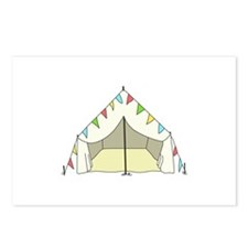 GLAMPING TENT Postcards (Package of 8)