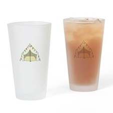 GLAMPING TENT Drinking Glass