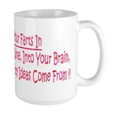 Fart Large Mugs (15 oz)
