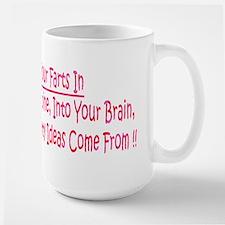 Dont Hald Fart In Large Mug