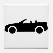 Car convertible Tile Coaster