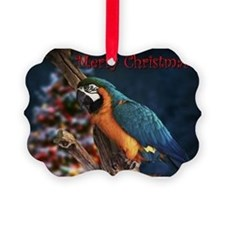 blue & Gold Christmas Ornament