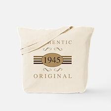 1945 Authentic Tote Bag