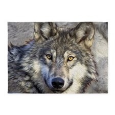 Grey Wolf 5'x7'Area Rug