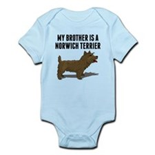 My Brother Is A Norwich Terrier Body Suit