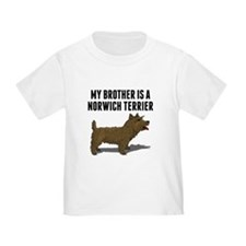 My Brother Is A Norwich Terrier T-Shirt