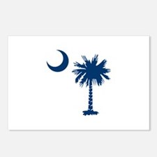 PALMETTO TREE Postcards (Package of 8)