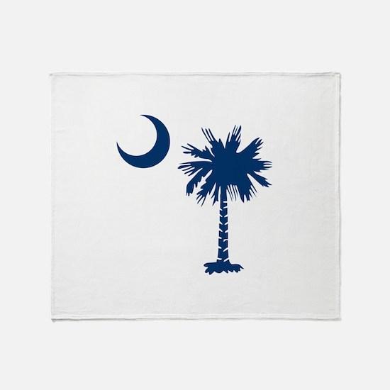PALMETTO TREE Throw Blanket