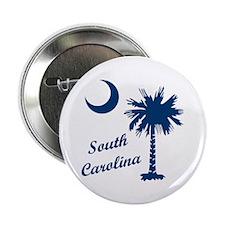 "SOUTH CAROLINA PALMETTO 2.25"" Button (10 pack)"