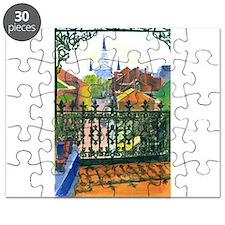 French Quarter Balcony Puzzle