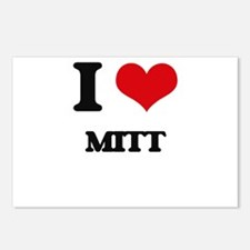 I Love Mitt Postcards (Package of 8)
