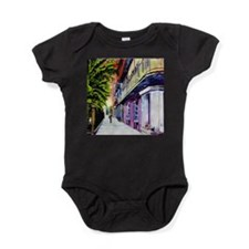 Old Pirates Alley Baby Bodysuit