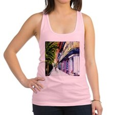 Old Pirates Alley Racerback Tank Top
