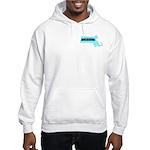 True Blue Massachusetts LIBERAL Hooded Sweatshirt