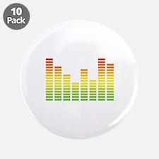 """Sound Bar Chart 3.5"""" Button (10 pack)"""