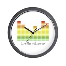 Turn the Volume Up Wall Clock