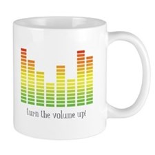 Turn the Volume Up Mugs