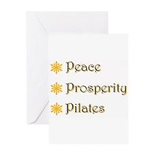 Pilate Greeting Card
