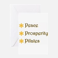 Funny Pilates Greeting Card