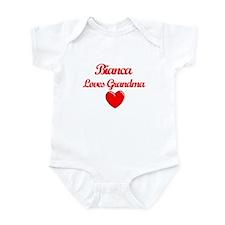 Bianca Loves Grandma Infant Bodysuit