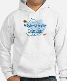 Celebration for Branden (fish Hoodie