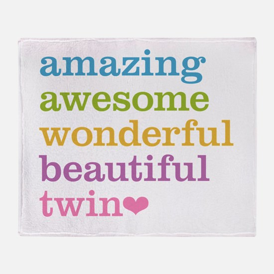 Awesome Twin Throw Blanket