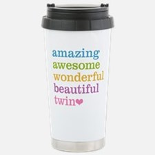 Awesome Twin Stainless Steel Travel Mug