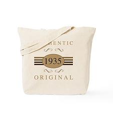 1935 Authentic Tote Bag