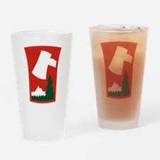 70th ID.png Drinking Glass