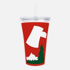 70th ID.png Acrylic Double-wall Tumbler