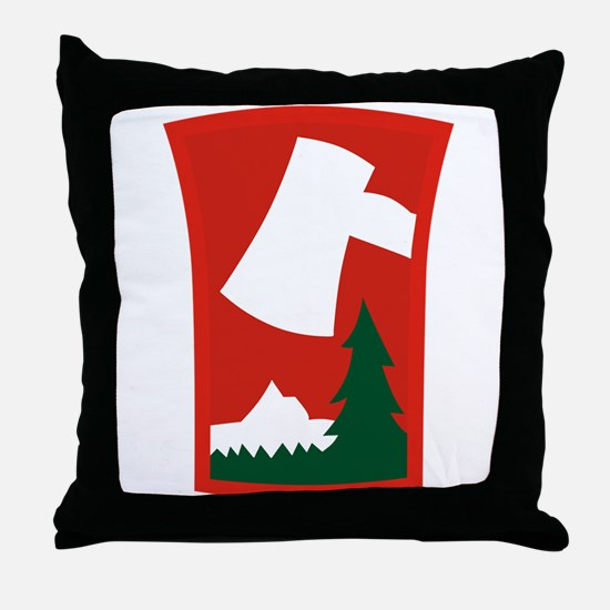 70th ID.png Throw Pillow