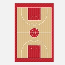 Basketball Court Postcards (Package of 8)