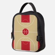 Basketball Court Neoprene Lunch Bag