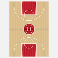 Basketball Court Invitations
