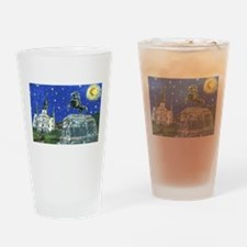 Stary Jackson Square Drinking Glass