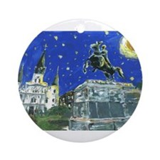 Stary Jackson Square Ornament (Round)