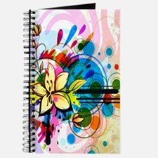 Flower Abstract Journal