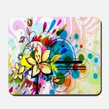 Flower Abstract Mousepad