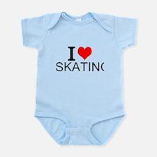 I Love Skating Body Suit