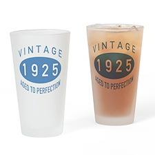 1925 Vintage Drinking Glass
