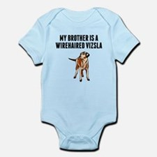 My Brother Is A Wirehaired Vizsla Body Suit