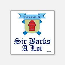 Sir Barks A lot Sticker