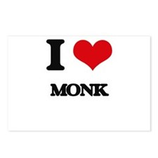 I Love Monk Postcards (Package of 8)
