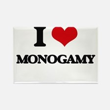 I Love Monogamy Magnets