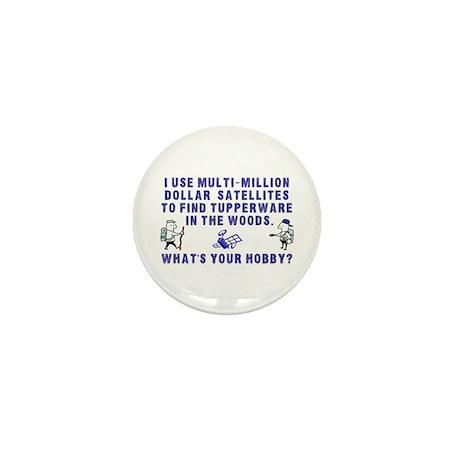 Geocache Mini Button