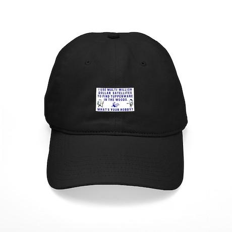 Geocache Geocache Black Cap