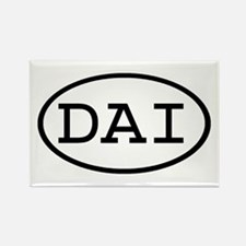 DAI Oval Rectangle Magnet