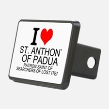 I Love St. Anthony of Padua Hitch Cover