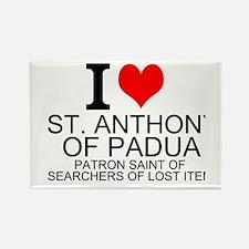 I Love St. Anthony of Padua Magnets